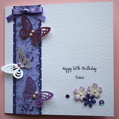 Handmade Personalised Birthday Card for 21st 3 Folksy – Handmade Personalised Birthday Cards