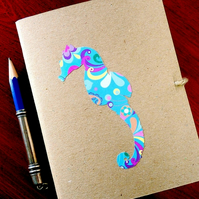 Notebook - 'Nature Notes' - short snouted seahorse