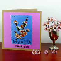 Greetings card - 'Thank you'
