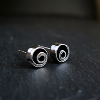 Sterling Silver Stud Earrings, Silver Studs