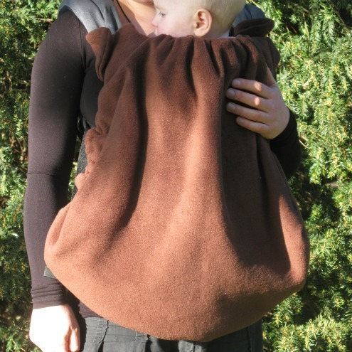 The Winter Sling Thing Fleece Cover For Baby Carriers