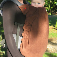 The Winter Sling Thing Fleece Cover for Baby Carrier