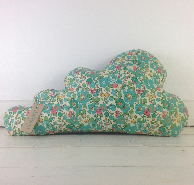 Liberty Print Cloud Cushion- Betsy Print