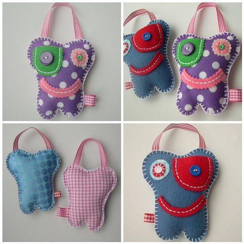 Tooth Fairy Pillow Mini Monsters