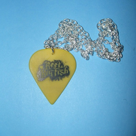 Reel Big Fish Guitar Pick Necklace