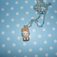 "Hello Kitty ""Tiger"" Ringing Bell Necklace"