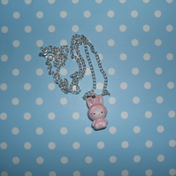 "Hello Kitty ""Bunny"" Ringing Bell Necklace"
