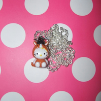 "Hello Kitty ""Horse"" Ringing Bell Necklace"