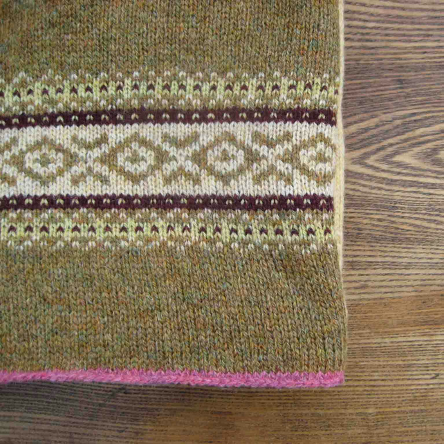 Fairisle Blanket Grouse