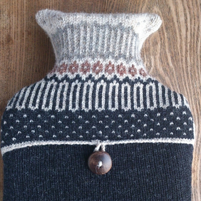 Hot water bottle Icelandic Dark