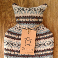 hot water bottle 2l blue