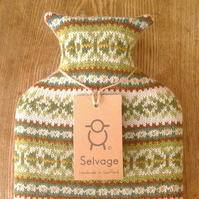 hot water bottle 2l lincoln green