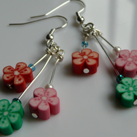 English Country Garden Earrings