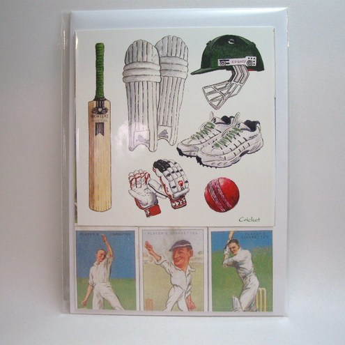 Cricket Birthday Card Folksy