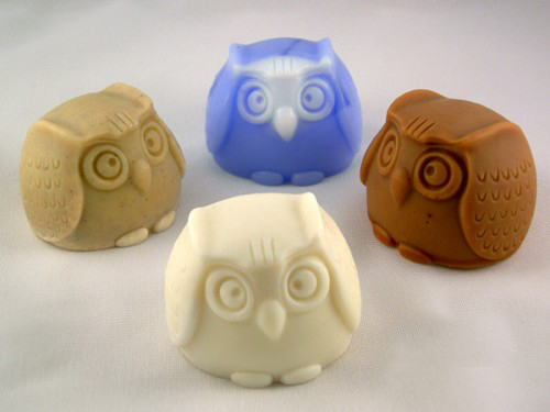 Awesome Owl soap