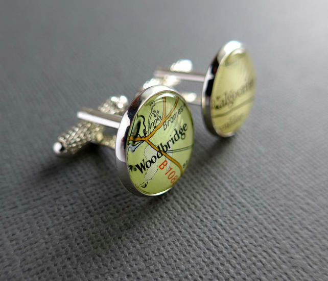 Boyfriend Gift Personalised Cufflinks