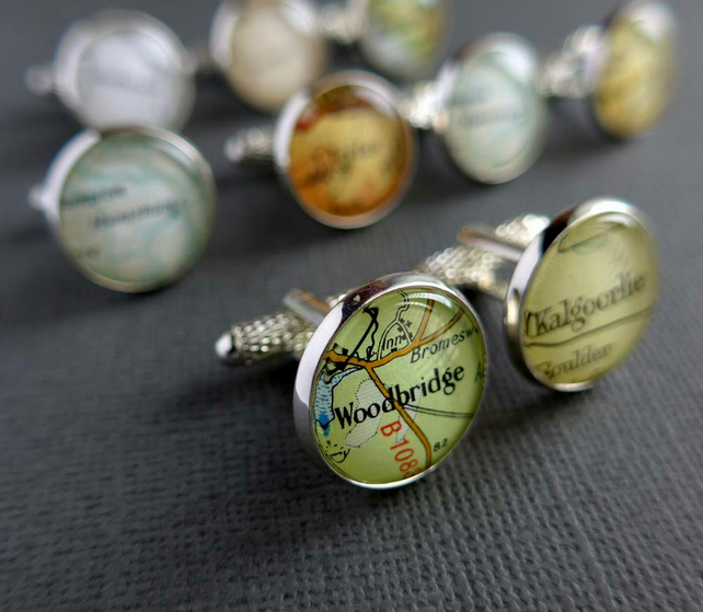Personalised Cufflinks, Custom Cufflinks
