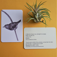 GoldCrest - Get Well Card - Recycled Cotton Print Keepsake