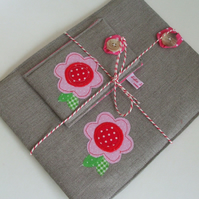 Irish Linen iPad sleeve