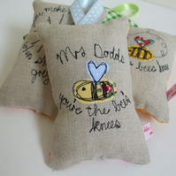 Personalised Teacher's Gift - You're the bee's knees