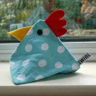 Chicken Pox - chicken doorstop