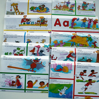 Sale - Set of 10 recycled envelopes - children's dictionary