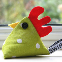 Alice the chicken pincushion or paperweight