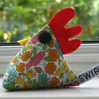 Limited edition Liberty fabric paperweight
