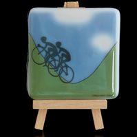 Cyclist Coaster - Inspired by Tour de France coming to Yorkshire
