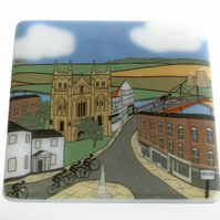 Selby cycling coaster inspired by Tour de Yorkshire