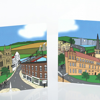 Tour de Yorkshire set of six cards