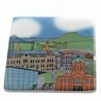 Middlesbrough glass coaster Tour de Yorkshire 2016
