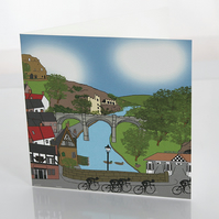 Knaresborough greeting card