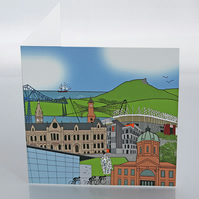 Middlesbrough greeting card