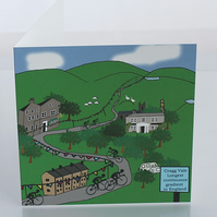 Cragg Vale greeting card