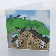 Otley cycling card