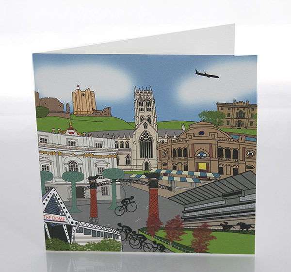 Doncaster greeting card