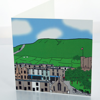 Clitheroe greeting card
