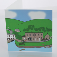 Dunsop Bridge greeting card