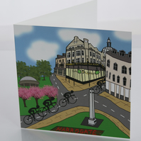 Harrogate greeting card