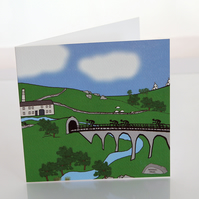 Monsal Trail greeting card