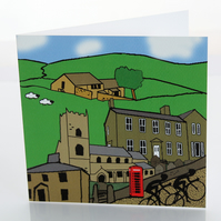 Haworth greeting card