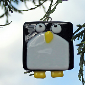 Hanging Christmas Penguin