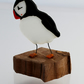 Small glass puffin