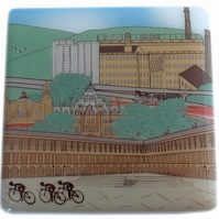 Halifax Tour de Yorkshire cyclist coaster