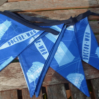 Doctor Who Fabric Bunting