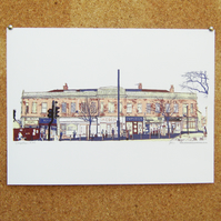 Chapeltown Road - giclee art print