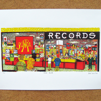 Jumbo Records - Leeds Screenprint Art