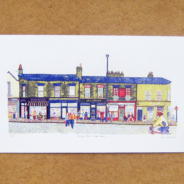 Harrogate Road-Chapel Allerton - Screenprint