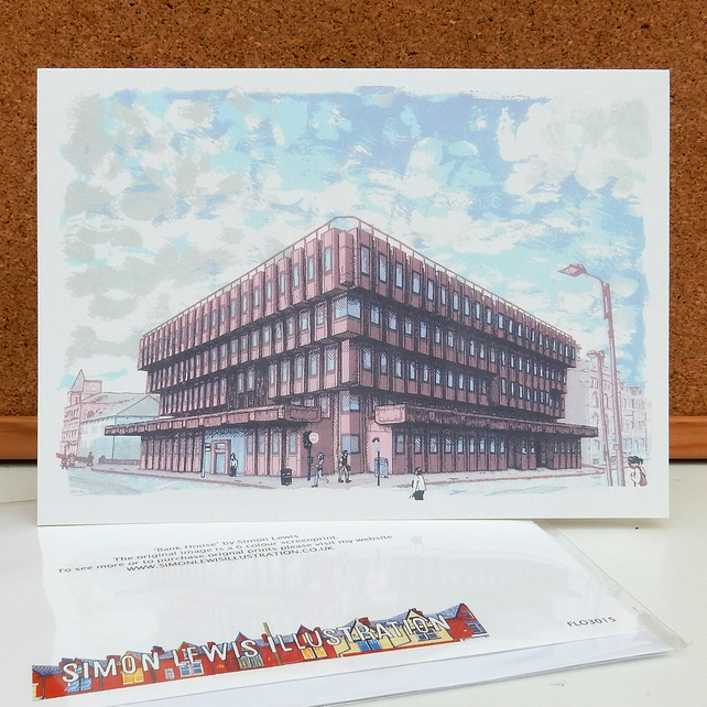 Bank House Greeting Card